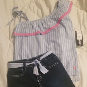 Nwot limited too girl outfit